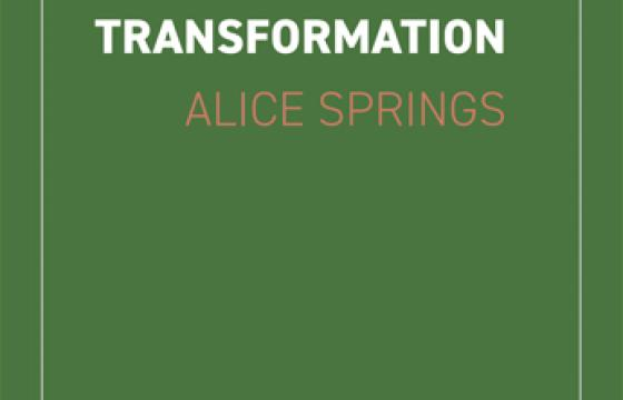 Urban Systems Transformation - Alice Springs